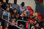 Nederland, Amsterdam, 23 september 2015<br /> Eredivisie<br /> Seizoen 2015-2016<br /> Ajax-De Graafschap<br /> Vluchtelingen op de tribune in de Amsterdam ArenA