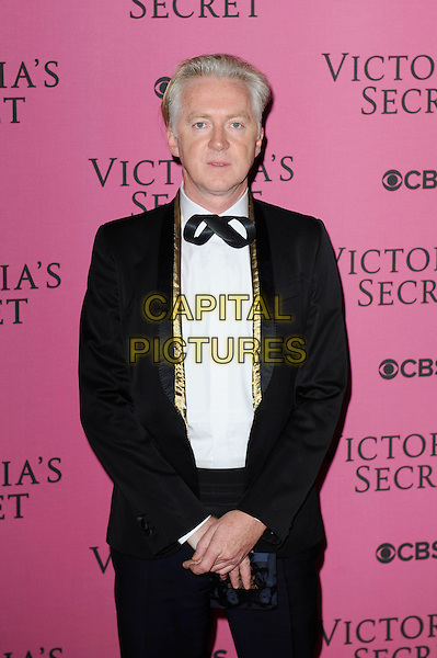 LONDON, ENGLAND - DECEMBER 2: Philip Treacy attends the pink carpet for Victoria's Secret Fashion Show 2014, Earls Court on December 2, 2014 in London, England.<br /> CAP/MAR<br /> &copy; Martin Harris/Capital Pictures