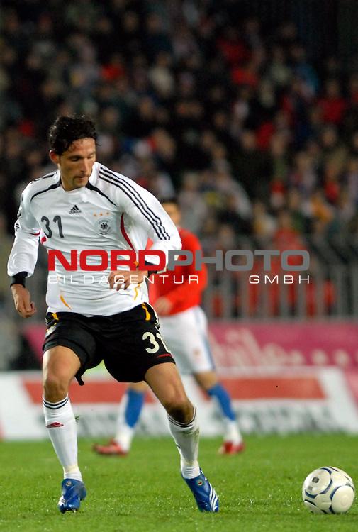EM 06/07 Qualifikation Gruppe: D - <br /> Europameisterschafts-Endrunde<br /> <br /> Tschechien ( CZE ) - Deutschland ( GER ) 1 - 2<br /> <br /> Kevin Kuranyi<br /> <br /> Foto :&copy; nph (nordphoto) *** Local Caption ***