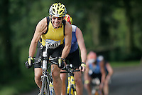 08 JUL 2007 - WAKEFIELD, GBR - John Helliwell - British Age Group Triathlon Championships. (PHOTO (C) NIGEL FARROW)