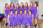 The Ballybunion Wildcats  team that played St Brigids  in the u16 Div 3 final at the KABB finals in Killarney on Saturday front row l-r: Aibhín O'Neill, Aisling O'Donoghue, Sarah Moriarty, Ava Moloney, Elida Buckley, Back row Maggie O'Neill, Millie Byrne, Mae Whelan, Nora Fitzsimons Aoife Donnegan, Maura O'Neill, Ava Barrett,