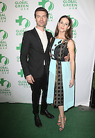 Hollywood, CA - February 22: Noah Bean, Lyndsy Fonseca, At 14th Annual Global Green Pre Oscar Party, At TAO Hollywood In California on February 22, 2017. Credit: Faye Sadou/MediaPunch