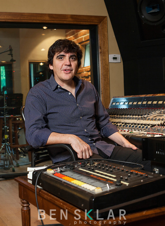 Jim Eno, drummer of Spoon, and producer at Public-hifi recording studio.
