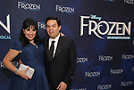 Kristen Anderson-Lopez , Robert Lopez attends the Broadway Opening Night After Party for 'Frozen' at Terminal 5 on March 22, 2018 in New York City.