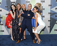 NEW YORK, NY - MAY 14: Emma Dumont, Amy Acker, Natalie Alyn Lind, Andy Cohen, Skyler Samuels, and Jamie Chung at the 2018 Fox Network Upfront at Wollman Rink, Central Park on May 14, 2018 in New York City.  <br /> CAP/MPI/PAL<br /> &copy;PAL/MPI/Capital Pictures