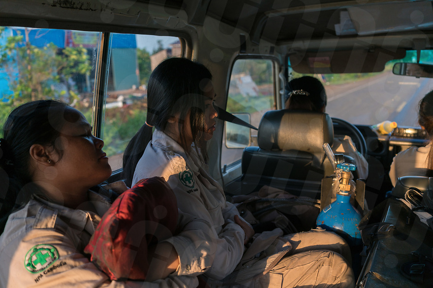 April 26, 2017 - Banlung (Cambodia). The team heads out for a survey mission in their Land Rover. The team is composed of five female members – four surveyors and one team leader – trained in different fields such as off-road driving, first aid, dog handling, and mechanics. © Thomas Cristofoletti / Ruom
