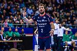 Robin HALLER (#2 SG Bietigheim) \ beim Spiel in der Handball Bundesliga, SG BBM Bietigheim - SC DHfK Leipzig.<br /> <br /> Foto &copy; PIX-Sportfotos *** Foto ist honorarpflichtig! *** Auf Anfrage in hoeherer Qualitaet/Aufloesung. Belegexemplar erbeten. Veroeffentlichung ausschliesslich fuer journalistisch-publizistische Zwecke. For editorial use only.