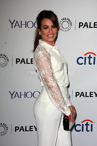 HOLLYWOOD, CA - March 13: Lea Michele at The Paley Center For Media's 32nd Annual PALEYFEST LA presents Glee in Hollywood, California on March 13, 2015. Credit: David Edwards/DailyCeleb/MediaPunch