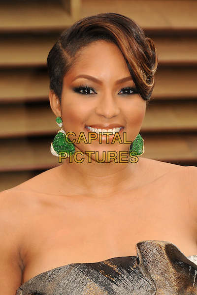 02 March 2014 - West Hollywood, California - Alicia Quarles. 2014 Vanity Fair Oscar Party following the 86th Academy Awards held at Sunset Plaza. <br /> CAP/ADM/BP<br /> &copy;Byron Purvis/AdMedia/Capital Pictures
