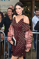 Lilah Parsons<br /> arrives for the TopShop UNIQUE catwalk show as part of London Fashion Week SS17, Old Spitalfields Market, London<br /> <br /> <br /> &copy;Ash Knotek  D3155  17/09/2016