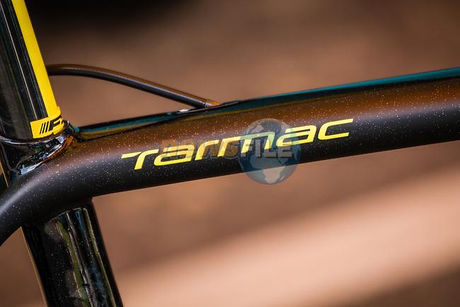 Specialized Tarmac bike of Vincenzo Nibali (ITA,Astana Pro Team), Tour de France, Stage 21: Évry > Paris Champs-Élysées, UCI WorldTour, 2.UWT, Paris Champs-Élysées, France, 27th July 2014, Photo by Pim Nijland