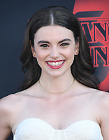 "28 June 2019 - Santa Monica, California - Francesca Reale. ""Stranger Things 3"" Los Angeles Premiere held at Santa Monica High School. Photo Credit: Birdie Thompson/AdMedia"