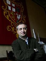 Il sindaco di Orvieto Stefano Mocio ritratto in Municipio, Orvieto, 20 maggio 2008..UPDATE IMAGES PRESS/Riccardo De Luca