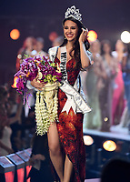 BANGKOK, THAILAND - DECEMBER 17: 2018 MISS UNIVERSE: Miss Philippines Catriona Gray is crowned the new Miss Universe onstage on the 2018 MISS UNIVERSE competition at the Impact Arena in Bangkok, Thailand on December 17, 2018. (Photo by Frank Micelotta/FOX/PictureGroup)