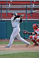 Cincinnati Bearcats outfielder Branden Kline (18)  during a game vs. St. John's Red Storm at Jack Kaiser Stadium in Queens, NY;  March 25, 2011.  St. John's defeated Cincinnati 3-2.  Photo By Tomasso DeRosa/Four Seam Images