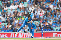 Hardik Pandya (India) in action during India vs Australia, ICC World Cup Cricket at The Oval on 9th June 2019