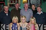 Kingdom NYE : Celebrating NYE at the Kingdom Bar in Listowel were in front Michelle Halpin, Brenda Heffernan  & Jacquelin Halpin. Back: Con McCarthy, Jim Ryan, Sean Gleeson, Christy Halpin & Tom O'Connor.