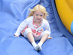 Addison Kelly pictured at the Aston Village Fun Day. Photo:Colin Bell/pressphotos.ie