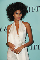 www.acepixs.com<br /> April 21, 2017  New York City<br /> <br /> Imaan Hammam attending Tiffany &amp; Co. Celebrates The 2017 Blue Book Collection at St. Ann's Warehouse on April 21, 2017 in New York City.<br /> <br /> Credit: Kristin Callahan/ACE Pictures<br /> <br /> <br /> Tel: 646 769 0430<br /> Email: info@acepixs.com
