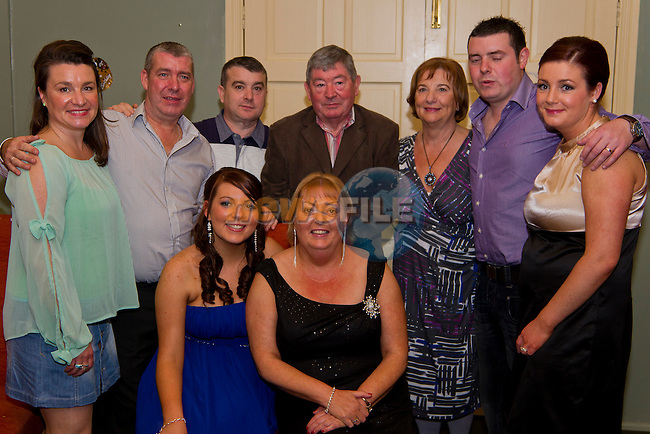 Orlith and Theresa Reilly both celebrate their 21st and 50th birthdays together in Star and Crescent with their family..Picture: Shane Maguire / www.newsfile.ie