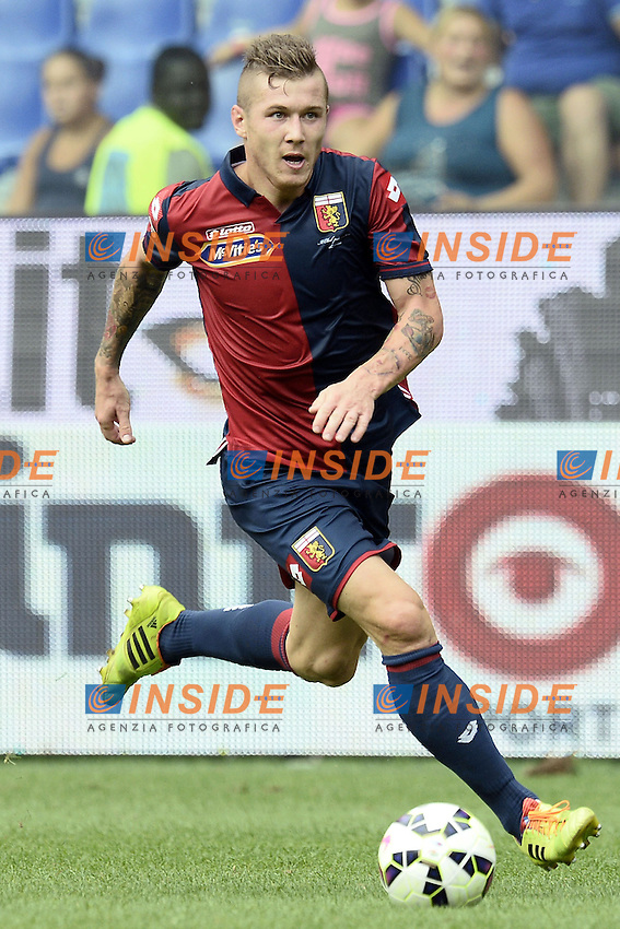 Juraj Kucka Genoa<br /> Genova 21-09-2014 Stadio Luigi Ferraris - Football Calcio Serie A Genoa - Lazio. Image Sport / Foto Insidefoto