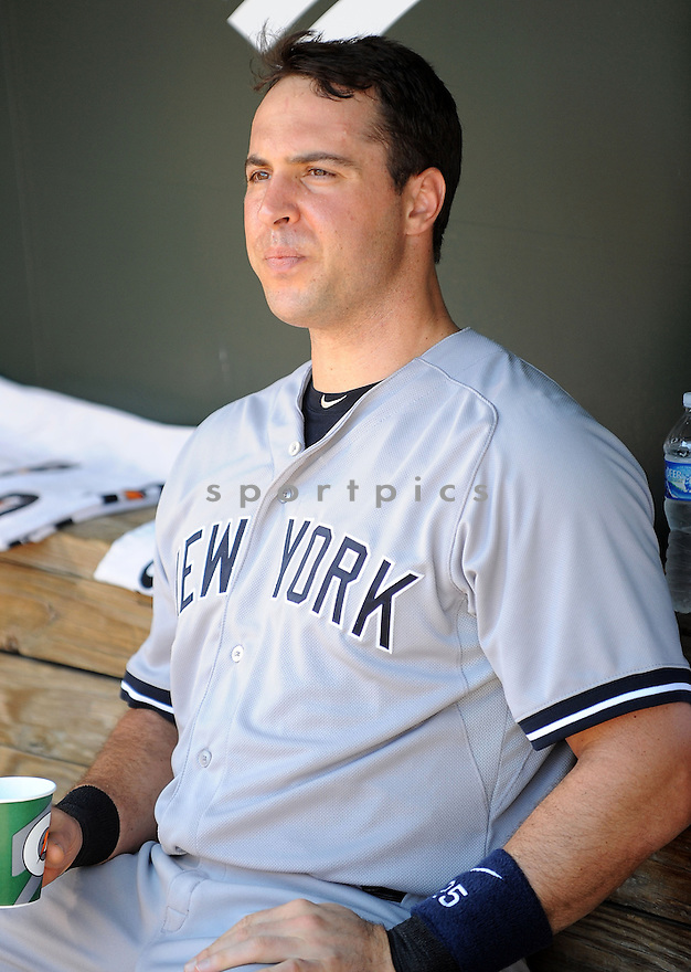 New York Yankees Mark Teixeira (25) during a game against the Baltimore Orioles on September 12, 2014 at Orioles Park in Baltimore, MD. The Orioles beat the Yankees 2-1.
