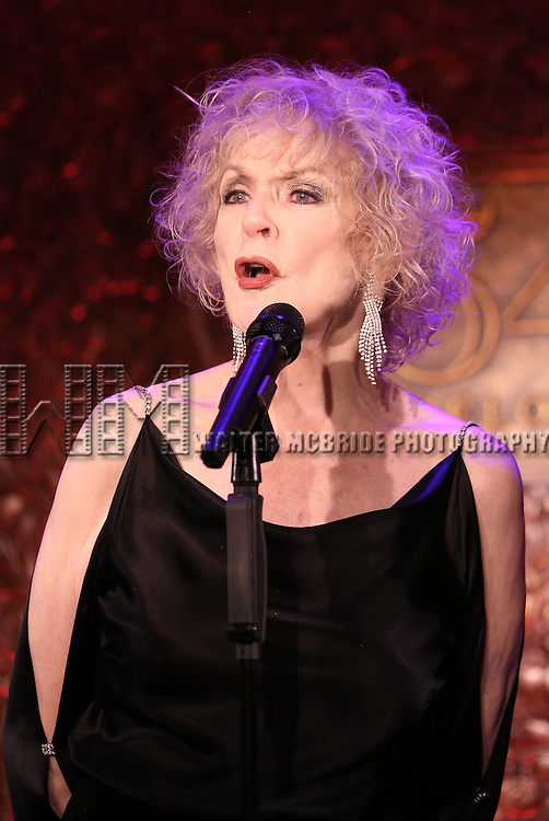 Penny Fuller performing 'Sin Twisters' at the 54 Below Press Preview on September 23, 2013 in New York City.