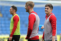 Daniel James of Wales during the Wales Training Session at the Cardiff City Stadium in Cardiff, Wales, UK. Thursday 15 November 2018