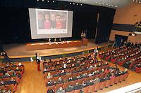 Conferenza per la presentazione del nuovo centro Tigen  di Telethon<br /> nella foto Andrea Ballabio Luca Cordero di Montezemolo