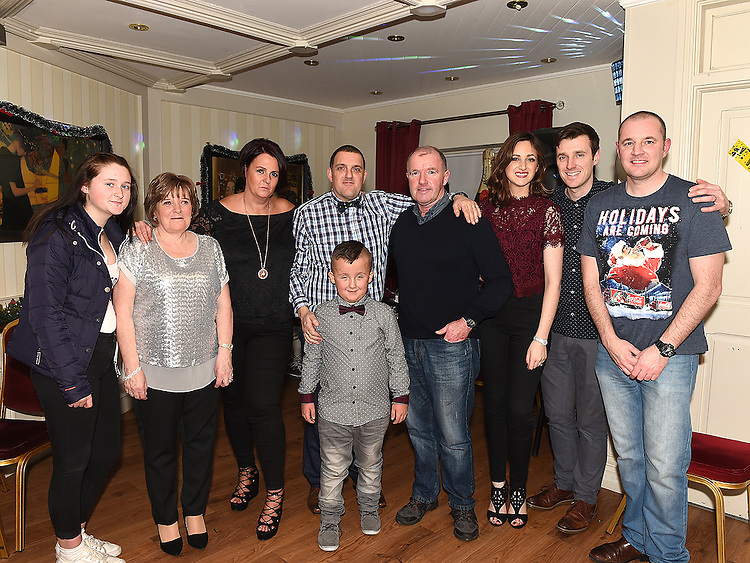 The Tuohy family at the Thompson family reunion in the Pheasant. Photo:Colin Bell/pressphotos.ie