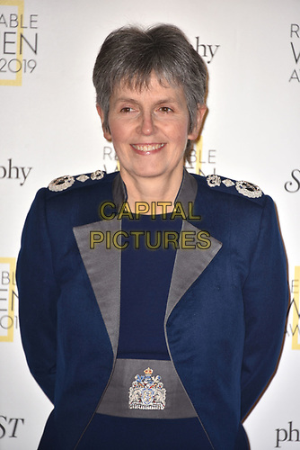Cressida Dick, Commissioner of the Metropolitan Police Service<br /> The Remarkable Women Awerds 2019 held at Rosewood London in London, England on March 05, 2019.<br /> CAP/PL<br /> ©Phil Loftus/Capital Pictures