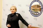 Clinton School: Madeleine Albright