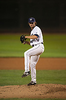 Helena Brewers starting pitcher Joey Matulovich (37) delivers a pitch during a Pioneer League game against the Orem Owlz at Kindrick Legion Field on August 21, 2018 in Helena, Montana. The Orem Owlz defeated the Helena Brewers by a score of 6-0. (Zachary Lucy/Four Seam Images)
