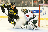 NHL 2014: Wild vs Bruins MAR 17