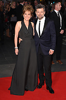 director, Andy Serkis and wife, Lorraine Ashbourne<br /> arriving for the London Film Festival 2017 screening of &quot;Breathe&quot; at the Odeon Leicester Square, London<br /> <br /> <br /> &copy;Ash Knotek  D3318  04/10/2017