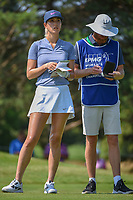 Michelle Wie (USA) looks over her tee shot on 3 during round 3 of the 2018 KPMG Women's PGA Championship, Kemper Lakes Golf Club, at Kildeer, Illinois, USA. 6/30/2018.<br /> Picture: Golffile | Ken Murray<br /> <br /> All photo usage must carry mandatory copyright credit (&copy; Golffile | Ken Murray)