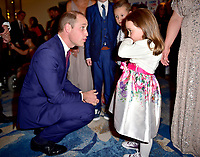 30 October 2017 - Prince William Duke of Cambridge with Winner of the Child of Courage Award Suzie McCash at the Pride Of Britain Awards 2017 at The Grosvenor House Hotel London. Photo Credit: ALPR/AdMedia