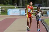 Sebastian Merchan (224) de Bogota y Julio Chilito de Pitalito, Huila en 5.000m marcha categor&Atilde;a A en finales nacionales de Sup&raquo;rate Intercolegiados en Bogot&sum; el 22 de octubre de 2014.<br /> Foto: Archivolatino para Sup&raquo;rate Intercolegiados, Coldeportes<br /> <br /> COPYRIGHT: Sup&raquo;rate, Coldeportes. <br /> Prohibida su venta y su uso comercial sin autorizaci&euro;n