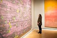 NWA Democrat-Gazette/CHARLIE KAIJO Tatiana Gorodilova of St. Petersburg, Russia looks at an art piece called &quot;Asa's Palace&quot;, Friday, March 2, 2018 at Crystal Bridges in Bentonvile.<br />