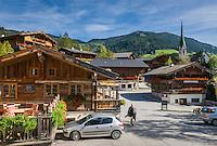 Austria, Tyrol, Alpbach: village centre | Oesterreich, Tirol, Alpbach: Ortszentrum