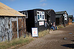 Fish sheds, Orford, Suffolk, England