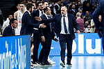 Coach Pablo Laso of Real Madrid during Turkish Airlines Euroleague match between Real Madrid and FC Barcelona Lassa at Wizink Center in Madrid, Spain. December 13, 2018. (ALTERPHOTOS/Borja B.Hojas)