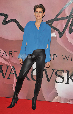 Stella Tennant at the Fashion Awards 2016, Royal Albert Hall, Kensington Gore, London, England, UK, on Monday 05 December 2016. <br /> CAP/CAN<br /> ©CAN/Capital Pictures /MediaPunch ***NORTH AND SOUTH AMERICAS ONLY***