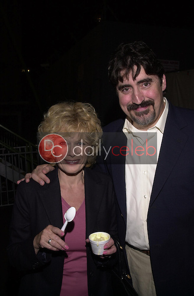 Alfred Molina and wife