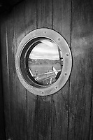 Porthole on the Professor Khromov
