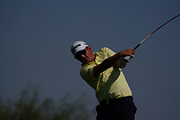 Darius Van Driel (NED) on the 3rd during Round 2 of the Commercial Bank Qatar Masters 2020 at the Education City Golf Club, Doha, Qatar . 06/03/2020<br /> Picture: Golffile | Thos Caffrey<br /> <br /> <br /> All photo usage must carry mandatory copyright credit (© Golffile | Thos Caffrey)