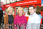 Jessica, Breda and Billy O'Connor, pictured at their new Kerry Phones Centre outlet on College Street, Killarney.......