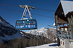 Ski tram at the Cortina Ski Area, Dolomites, Italy, .  John offers private photo tours in Denver, Boulder and throughout Colorado, USA.  Year-round. .  John offers private photo tours in Denver, Boulder and throughout Colorado. Year-round.
