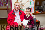 At the Moyderwell Primary School Grandparents Day on Thursday were John Burrows with grandson Jamie Burrows