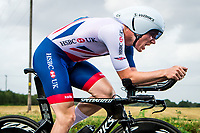Picture by Alex Whitehead/SWpix.com - 07/09/2017 - Cycling - OVO Energy Tour of Britain - Stage 5, The Tendring Stage Individual Time Trial - Chris Lawless of Great Britain in action.